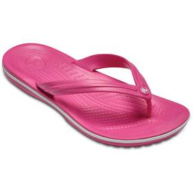 Crocs Crocband Sandalias, paradise pink/white